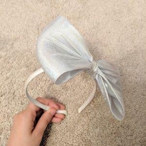 Big Holographic Bow Headband